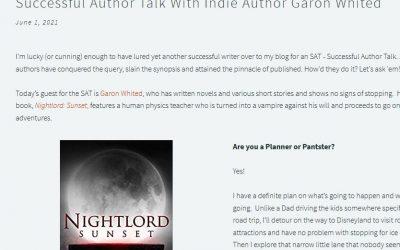 Successful Author Talk with Garon