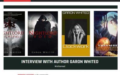 Wottaread Interviews Garon Whited